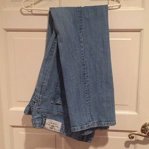 Ralph Lauren boot cut jeans size 16